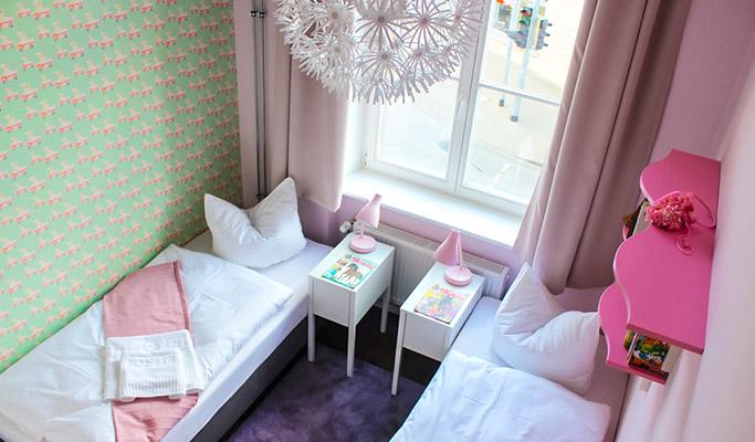 Übernachten im Mädchen-Doppelzimmer | Jugendherberge